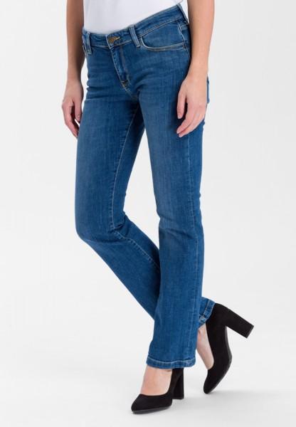 Cross jeans Lauren bootcut L36, mid blue
