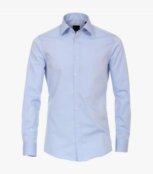I LOVE TALL Venti Casamoda 72 cm Langarmhemd für Business, hellblau