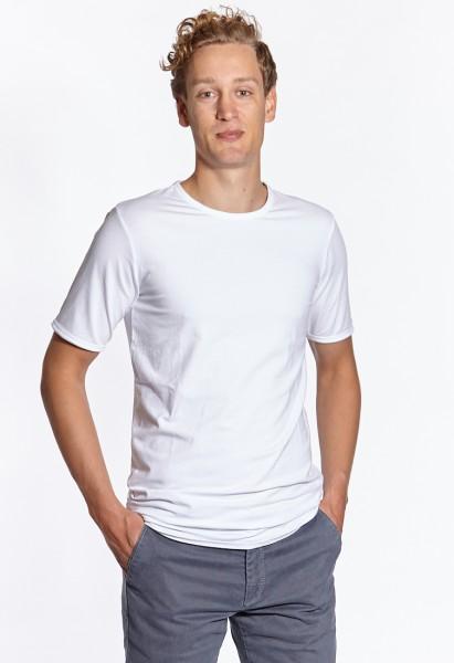 Crew-neck t-shirt extra long