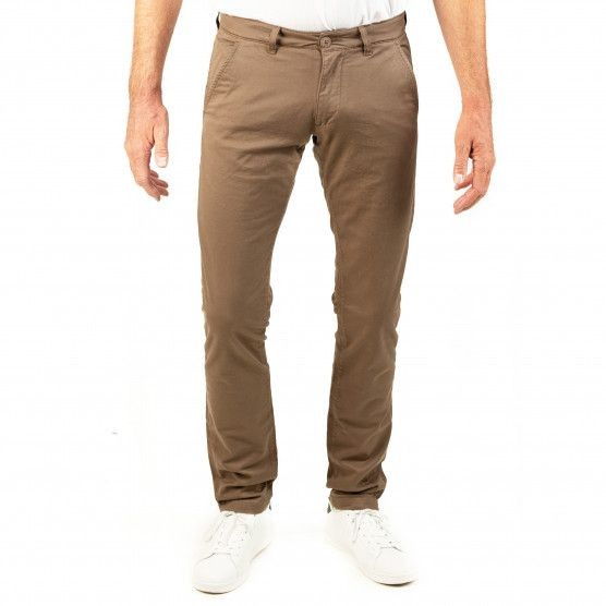 I LOVE TALL CUB Jeans Chinohosen Frog extra lang 38 Inch Innenbeinlänge taupe