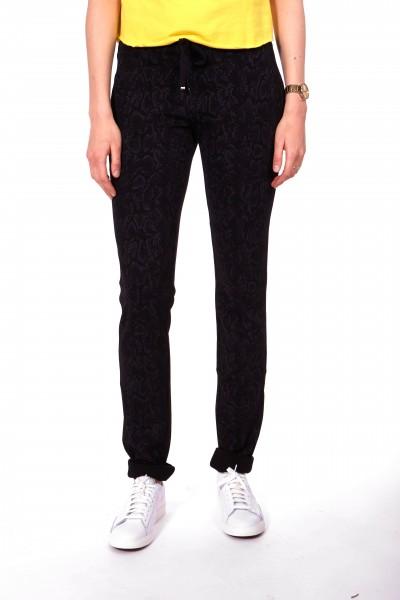 Pantalon en jersey décontracté Pasha L38 pouces avec imprimé reptilien