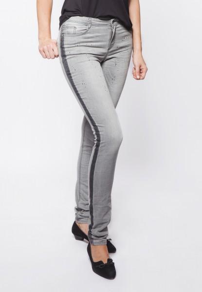Gill Fashion Jeggings, denim grey