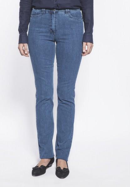 CS-Ricci Jeans straight cut, mittelblau