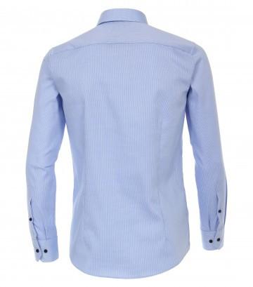 I LOVE TALL Venit Casamoda Business Hemd 72 cm Ärmellänge, hellblau aqua (hinten)