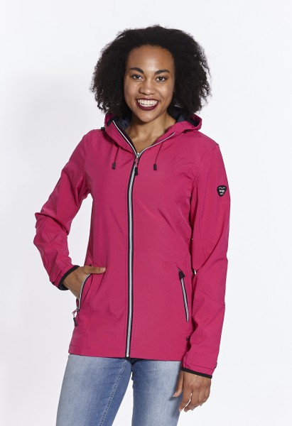 Softshell jacket ultra light with extra long sleeves