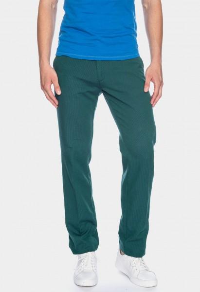Pantalon Jorjo rayures L38 pouces, vert bleu