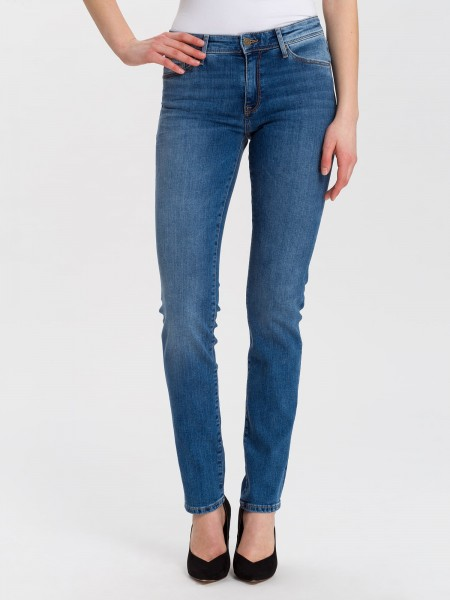 Cross jean Anya slim fit L36, soft blue used