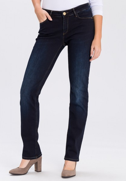 Cross Jeans Rose Straight Leg L36 Inch, blue black used