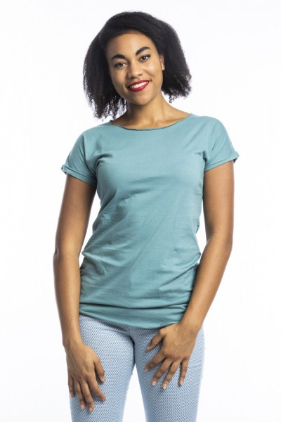 Organic Cotton T-Shirt Anju, arctic blue