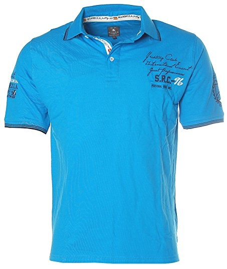Polo shirt slim fit with embroidery