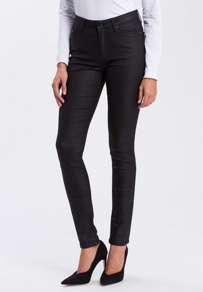 I LOVE TALL Alan Jeans Skinny Fit L36 Inch, black shiny - Tall Fashion Jeans