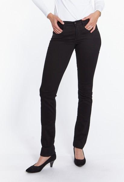 Kim pants cotton satin L38 inch, black