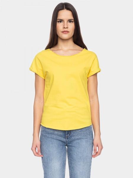 I LOVE TALL ATO Berlin T-Shirt Cleo GOTS zertifiziert, gelb