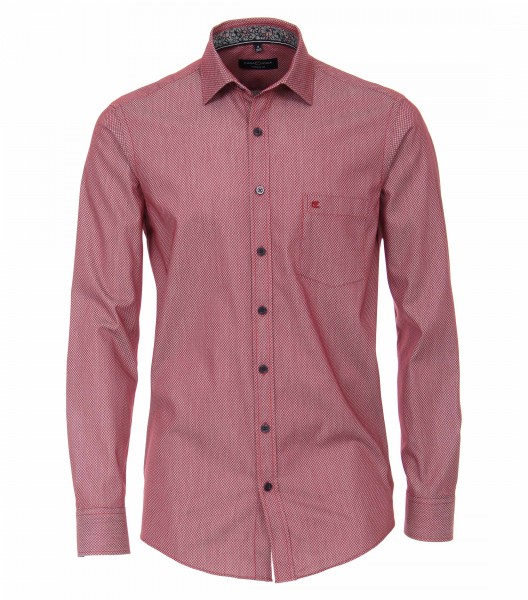 Long sleeve shirt Casual Fit 72 cm sleeve length, red