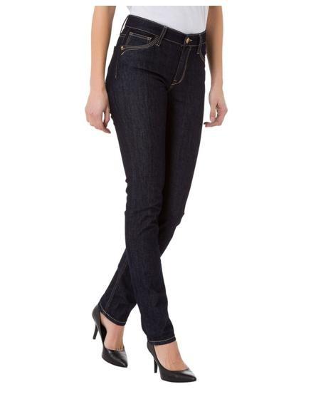 Anya jeans slim fit, dark blue rinsed