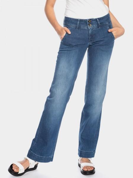 I LOVE TALL ATO Berlin Lilia Jeans 38 Inch Innenbeinlänge weites Bein, blue used