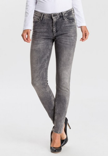 Alan Jeans Skinny Fit L36 Inch, dark grey