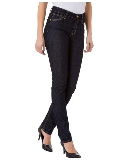 Cross Jeans Anya Slim Fit High Waist, dark blue rinsed