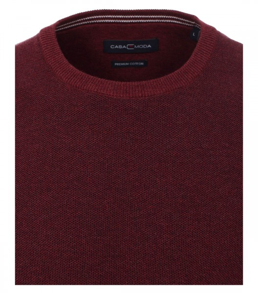 Pull tricoté col rond