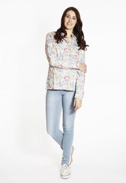 Bluse mit Flowerprint, multi colour