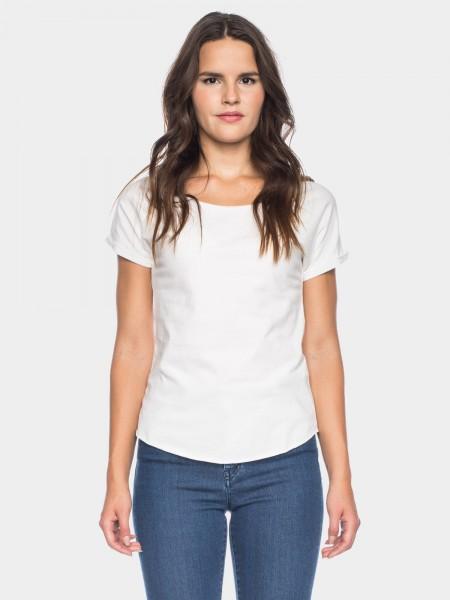 I LOVE TALL ATO Berlin Cleo T-Shirt aus Bio-Baumwolle GOTS zertifiziert, weiss
