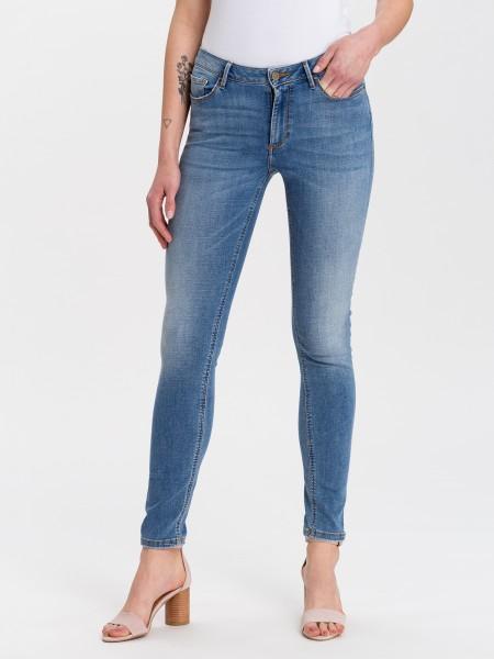Cross Jeans Alan Skinny Fit L34, mid blue