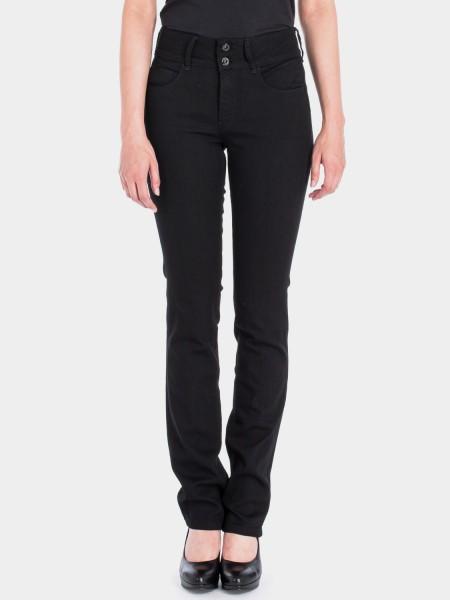I LOVE TALL ATO Berlin Jackie slim fit Jeans extra lang für die grosse Frau 38 Inch Innenbeinlänge,schwarz (vorne)