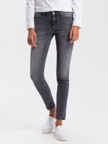 Cross jean Alan skinny fit L36 pouces, gris délavé