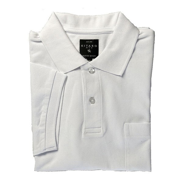 Polo shirt with chest pocket