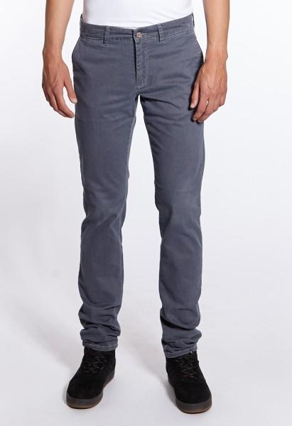 I LOVE TALL Langgrössen für Männer MAC Lennox Chino Hose printed grau vorne