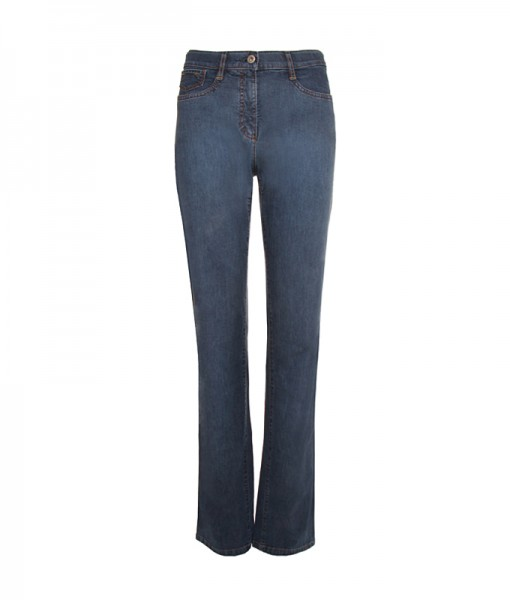 Sally Jeans leichter Denim, blue rinse