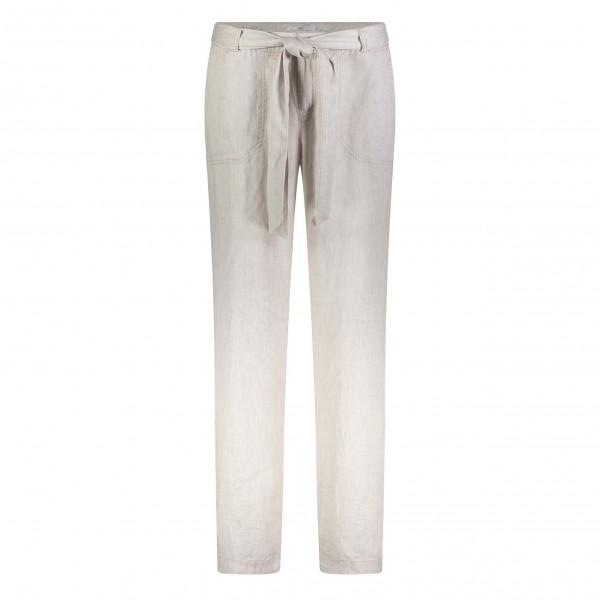 MAC linen trousers Nelly L36, beige mélange