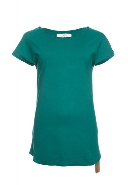 Coton organique T-shirt Anju, vert pacifique