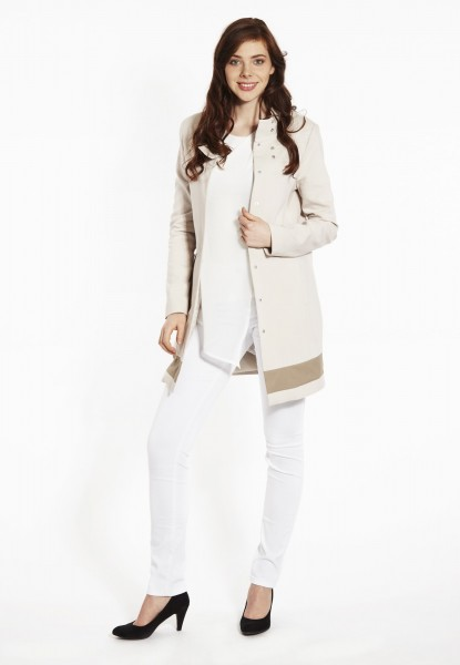 Spring coat, light beige