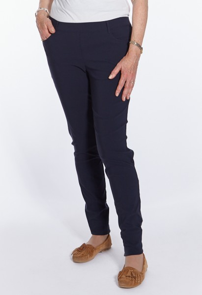 Lena 5-Pocket-Style trouser, straight cut, lime green